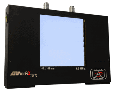 WidePIX 10x10 -Largest photon counting camera with 6,5 MPixels