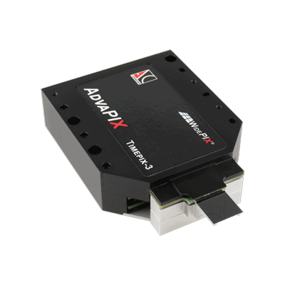 AdvaPIX-TPX3 spectral imaging camera without the cover