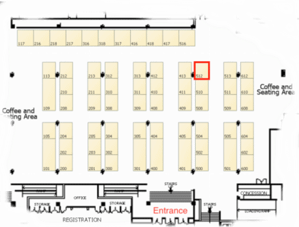 IEEE 2017 Atlanta conference floor plan