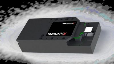ModuPix Tracker custom designed with special emphasis to particle tracking